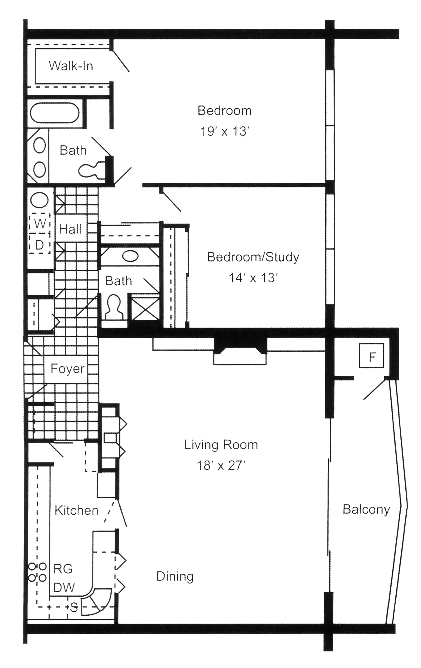 Luxury apartments in Erie, PA, South Shore Place, offers two bedroom, two bathroom 1,440 square foot apartments.