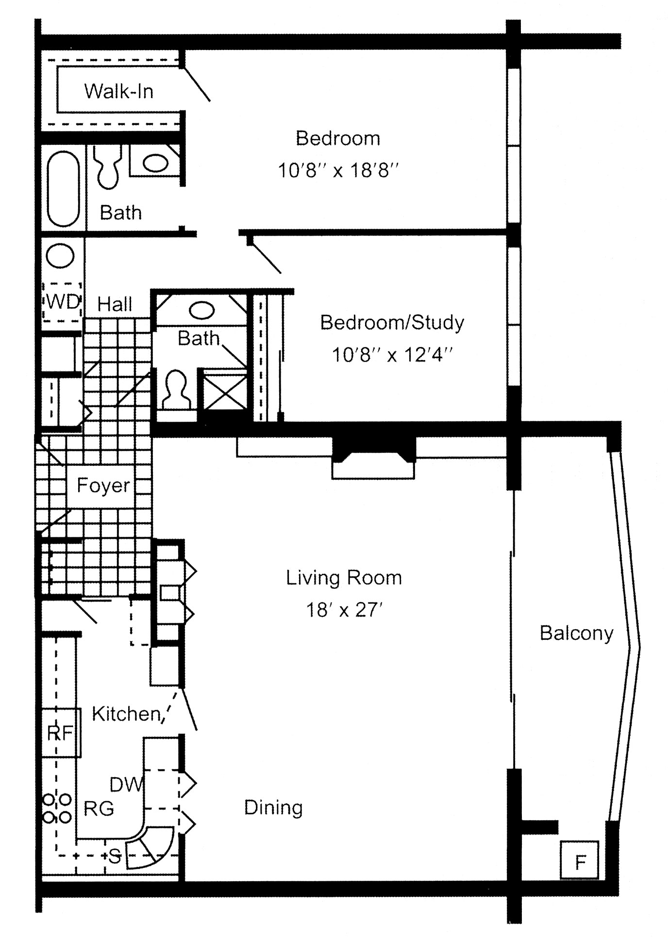 Luxury apartments in Erie, PA, South Shore Place, offers two bedroom, two bathroom 1,300 square foot apartments.